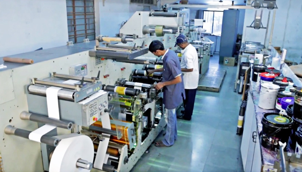 It's just a photo of Genius Label Manufacturers in Ahmedabad